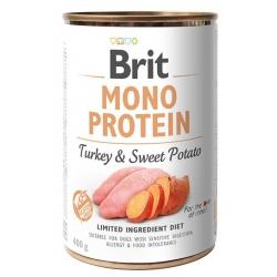 Brit Mono Protein Turkey & Sweet Potato puszka 400g