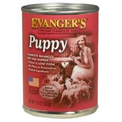 Evanger's Classic Dogs Puppy Przysmak szczeniaka kurczak puszka 362g