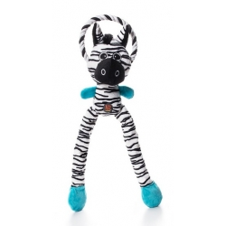 Petstages Thunda Tugga Zebra + sznur 52cm PS69494