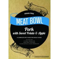 Meat Bowl - Wieprzowina z batatami i jabłkiem 12 kg