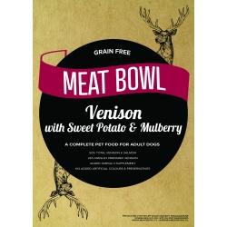 Meat Bowl - Dziczyzna (z jelenia) z batatami i morwą 2 kg