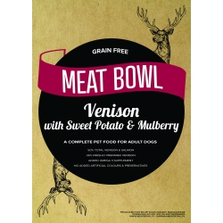 Meat Bowl - Dziczyzna (z jelenia) z batatami i morwą 12 kg