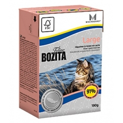 Bozita Cat Tetra Recart Feline Large 190g