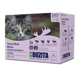 Bozita Cat Multibox z mięsem w sosie saszetki 12x85g
