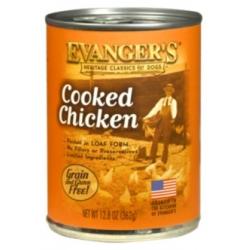 Evanger's Classic Dogs Gotowany Kurczak puszka 362g