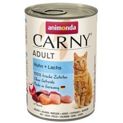 Animonda Carny Adult Kurczak + Łosoś puszka 400g