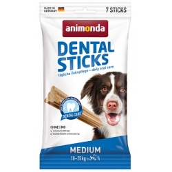 Animonda Dental Sticks Medium 10-25kg 7szt