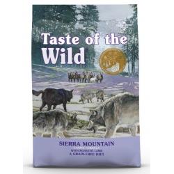 Taste of the Wild Sierra Mountain Canine z mięsem z jagnięciną 12,2kg