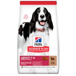 Hill's Science Plan Adult Medium Jagniecina & Ryż 2,5kg