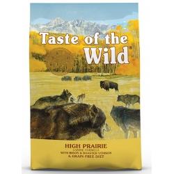 Taste of the Wild High Prairie Canine z mięsem z bizona 12,2kg