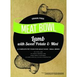 Meat Bowl (Rasy Małe) - Jagnięcina z batatami i miętą 6 kg