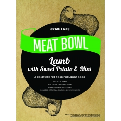 Meat Bowl - Jagnięcina z batatami i miętą 2 kg