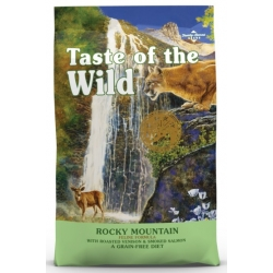 Taste of the Wild Rocky Mountain Feline z dziczyzną i łososiem 6,6kg