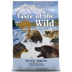 Taste of the Wild Pacific Stream Canine z mięsem z łososia 12,2kg