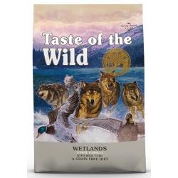 Taste of the Wild Wetlands Canine z mięsem z dzikiego ptactwa 12,2kg