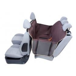 Kardiff Anti Slip mata samochodowa na tylne fotele z zamkiem i bokami S brązowa