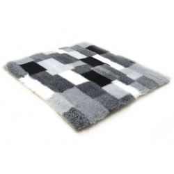 Canifel DryBed Posłanie Patchwork 75x50cm czarno-biały