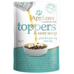 Applaws Cat Topper Zupa dynia, leszcz, tuńczyk 3x40g