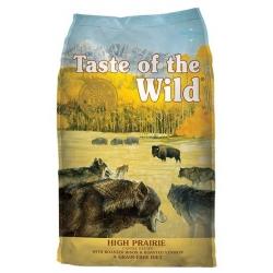 Taste of the Wild High Prairie Canine z mięsem z bizona 5,6kg