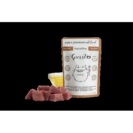 Gussto Fresh Wild Boar - świeża dziczyzna - karma mokra 85 g