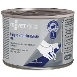 Trovet Unique Protein UPR Królik dla psa i kota puszka 200g