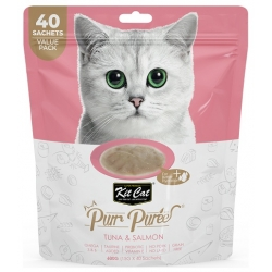 Kit Cat PurrPuree Tuna & Salmon 40x15g