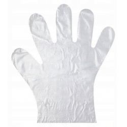 Rękawiczki foliowe 100szt.