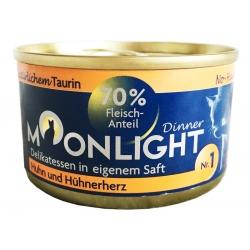 Moonlight Dinner Nr 1 - Kurczak i Serca Kurczaka 80 g