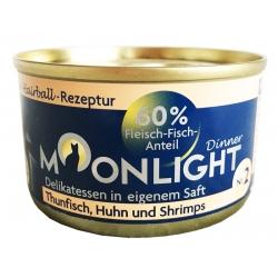 Moonlight Dinner Nr 2 - Tuńczyk, kurczak i krewetki 80 g