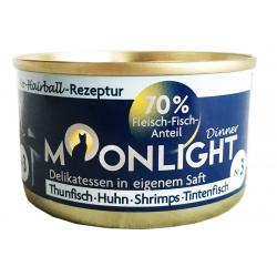 Moonlight Dinner Nr 3 - Tuńczyk, kurczak, krewetki i kałamarnica 80 g