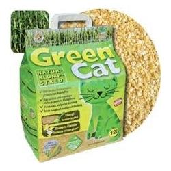 Green Cat - naturalny żwirek dla kotów 12L