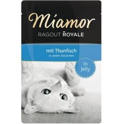 Miamor Ragout Royale z tuńczykiem w galaretce saszetka 100g