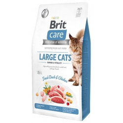 Brit Care Cat Grain Free Large Cats Power & Vitality 2kg