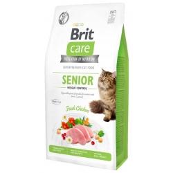 Brit Care Cat Grain Free Senior Weight Control 7kg