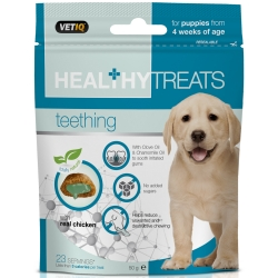 Vetiq Przysmaki dla ząbkujących szczeniąt Healthy Treats Teething For Puppies 50g