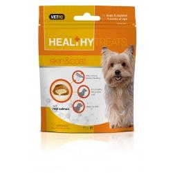 Vetiq Przysmaki dla psów i szczeniąt zdrowa skóra i sierść Healthy Treats Skin & Coat For Dogs & Puppies 70g