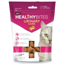 Vetiq Przysmaki dla kotów i kociąt Układ moczowy Healthy Bites Urinary Care For Cats & Kittens 65g