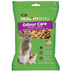 Vetiq Przysmaki dla gryzoni kontrola zapachu Healthy Bites Odour Care For Small Animals 30g