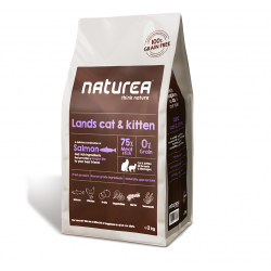 Naturea Grainfree Lands Cat and Kitten - 2 kg