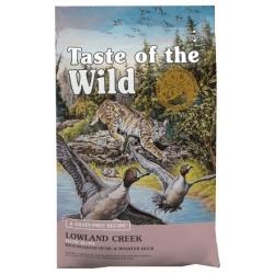 Taste of the Wild Lowland Creek Feline z przepiórką i kaczką 2kg