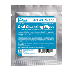 MAXI/GUARD Oral Cleansing Wipes 10 szt