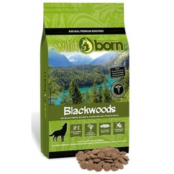 Wildborn Blackwoods dzik, królik 500g