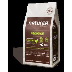 Naturea Grainfree REGIONAL Kurczak – Bezzbożowa karma dla dorosłych psów wszystkich ras, 2 kg