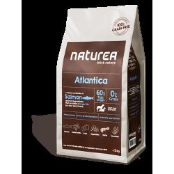 Naturea Grainfree ATLANTICA Łosoś - Bezzbożowa karma dla dorosłych psów wszystkich ras, 2 kg