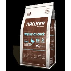 Naturea Grainfree WETLANDS DUCK Kaczka – Bezzbożowa karma dla dorosłych psów wszystkich ras, 2 kg