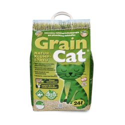 GrainCat - naturalny żwirek dla kotów 24L