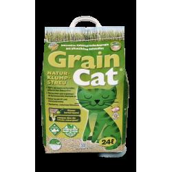 GrainCat - naturalny żwirek dla kotów 12L