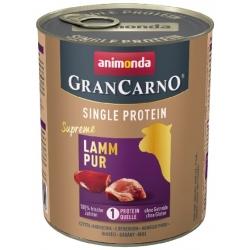 Animonda GranCarno Single Protein Jagnięcina puszka 800g