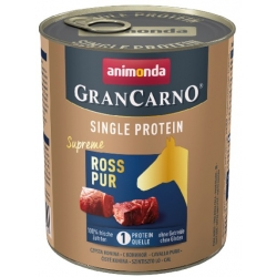 Animonda GranCarno Single Protein Konina puszka 800g