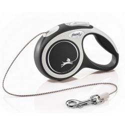 Flexi New Comfort Smycz linka XS 3m czarna [FL-2748]